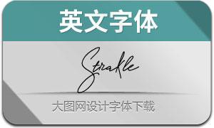 Strakle(英文字体)