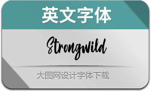 Strongwild(英文字体)