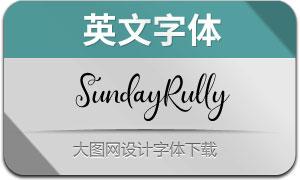 SundayRully(英文字体)