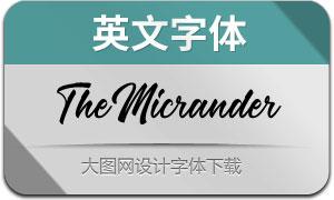 TheMicrander(с╒ндвжСw)