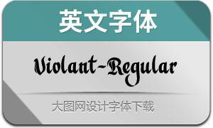 Violant-Regular(с╒ндвжСw)