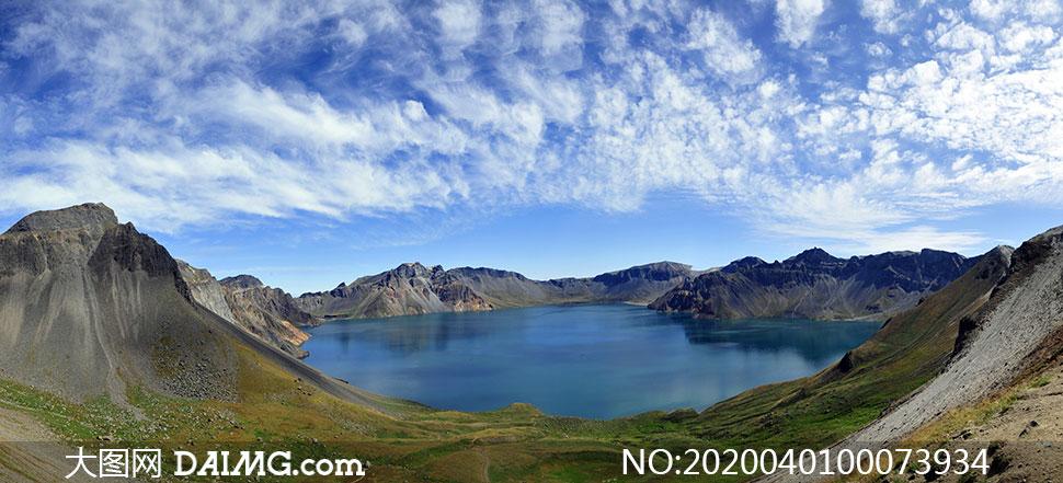 长白山天池美丽风光摄影图片