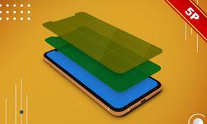 iPhone11平台应用程序界面样机模板