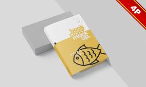 书籍封面内文等装帧效果样机源文件