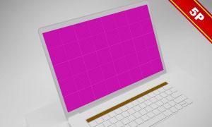 MacBookPro屏幕内容显示效果模板