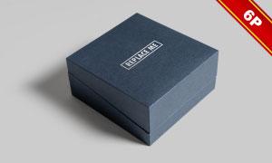 珠宝首饰盒图案文字应用效果源文件