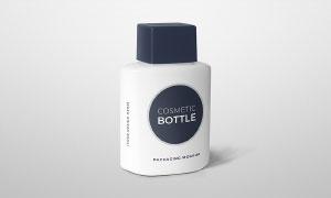 护肤用品乳液瓶身标签应用效果模板