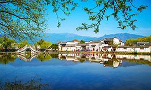 安徽宏村風景攝影圖片