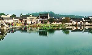 宏村風景高清攝影圖片