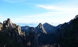 天下奇山黃山美景攝影圖片