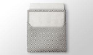 放入信封的卡片贴图模板分层源文件
