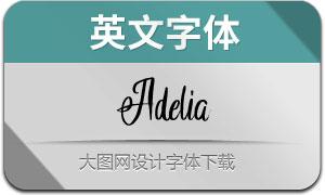 Adelia(英文字体)