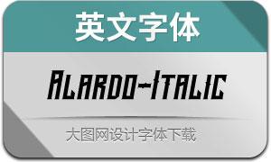 Alardo-Italic(英文字体)