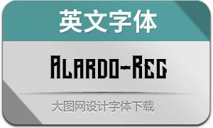 Alardo-Regular(英文字体)