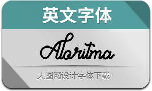 Aloritma(英文字体)