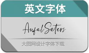 AufalSeters(英文字体)