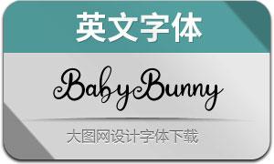 BabyBunny(英文字体)