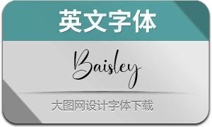 Baisley(英文字体)