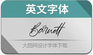 Barnett(英文字体)