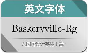 Baskervville-Regular(英文字体)