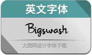 Bigswash(英文字体)
