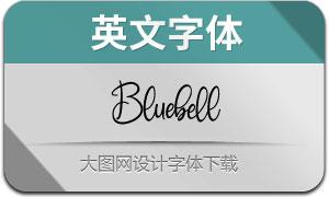 Bluebell(英文字体)