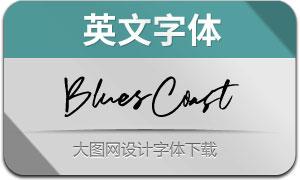 BluesCoast(英文字体)