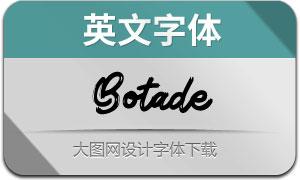 Botade(英文字体)