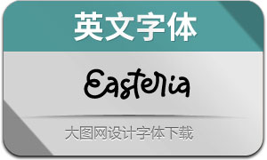 Easteria(英文字体)