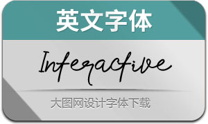 Interactive(英文字体)