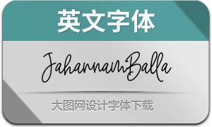 JahannamBalla(英文字体)