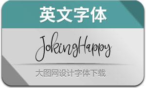 JokingHappy(英文字体)