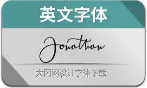 Jonathan(英文字体)