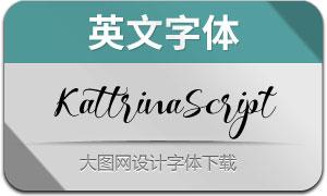 KattrinaScript(英文字体)