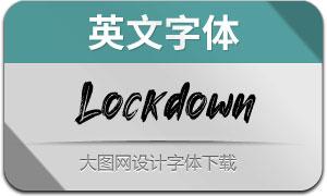 Lockdown(英文字体)