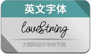 LoveString(英文字体)