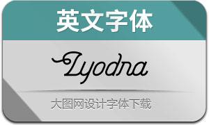 Lyodra(英文字体)