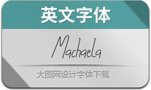 Machaela(英文字体)