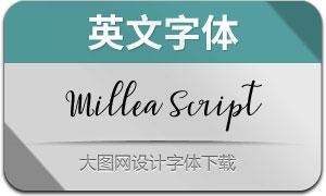 MilleaScript(英文字体)