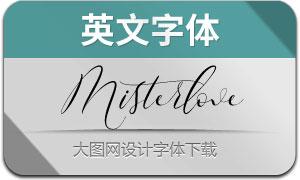 Misterlove(英文字体)