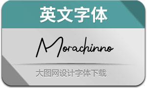 Morachinno(英文字体)