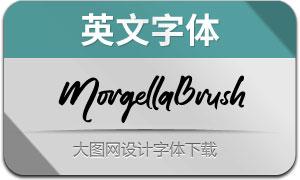 MorgellaBrush(英文字体)