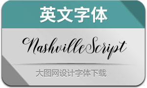 NashvilleScript(英文字体)