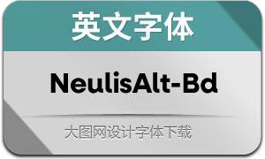 NeulisAlt-Bold(英文字体)