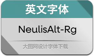 NeulisAlt-Regular(英文字体)