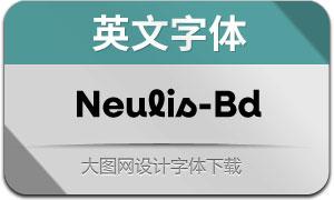Neulis-Bold(英文字体)