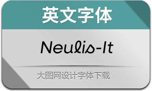 Neulis-Italic(英文字体)