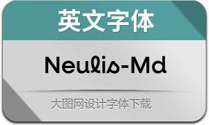 Neulis-Medium(英文字体)