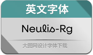 Neulis-Regular(英文字体)