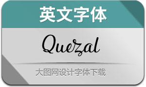 Quezal(英文字体)